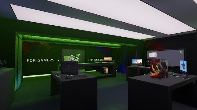PC Building Simulator Razer Workshop PC Full imagenes