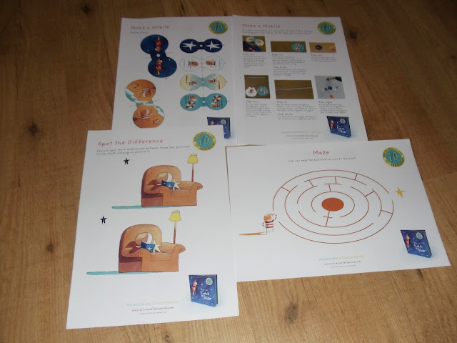 How To Catch A Star by Oliver Jeffers Book  activity sheets