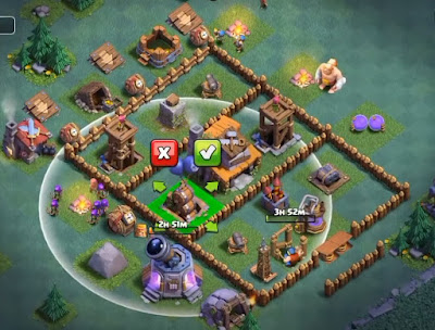 Base BUILDER HALL 4 coc