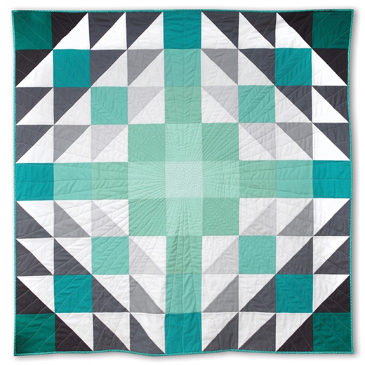 Ombre Vibes Quilt Free Pattern