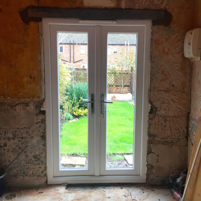 Fitting a French Door in a Renovation