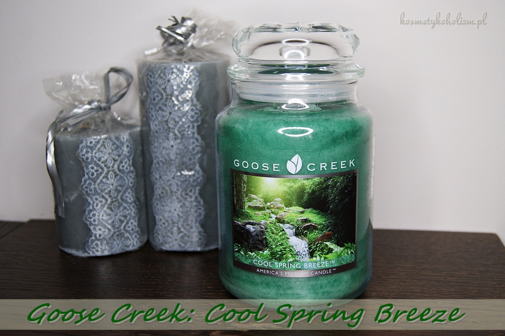 Goose Creek Candle | Cool Spring Breeze | Świecowa Niedziela