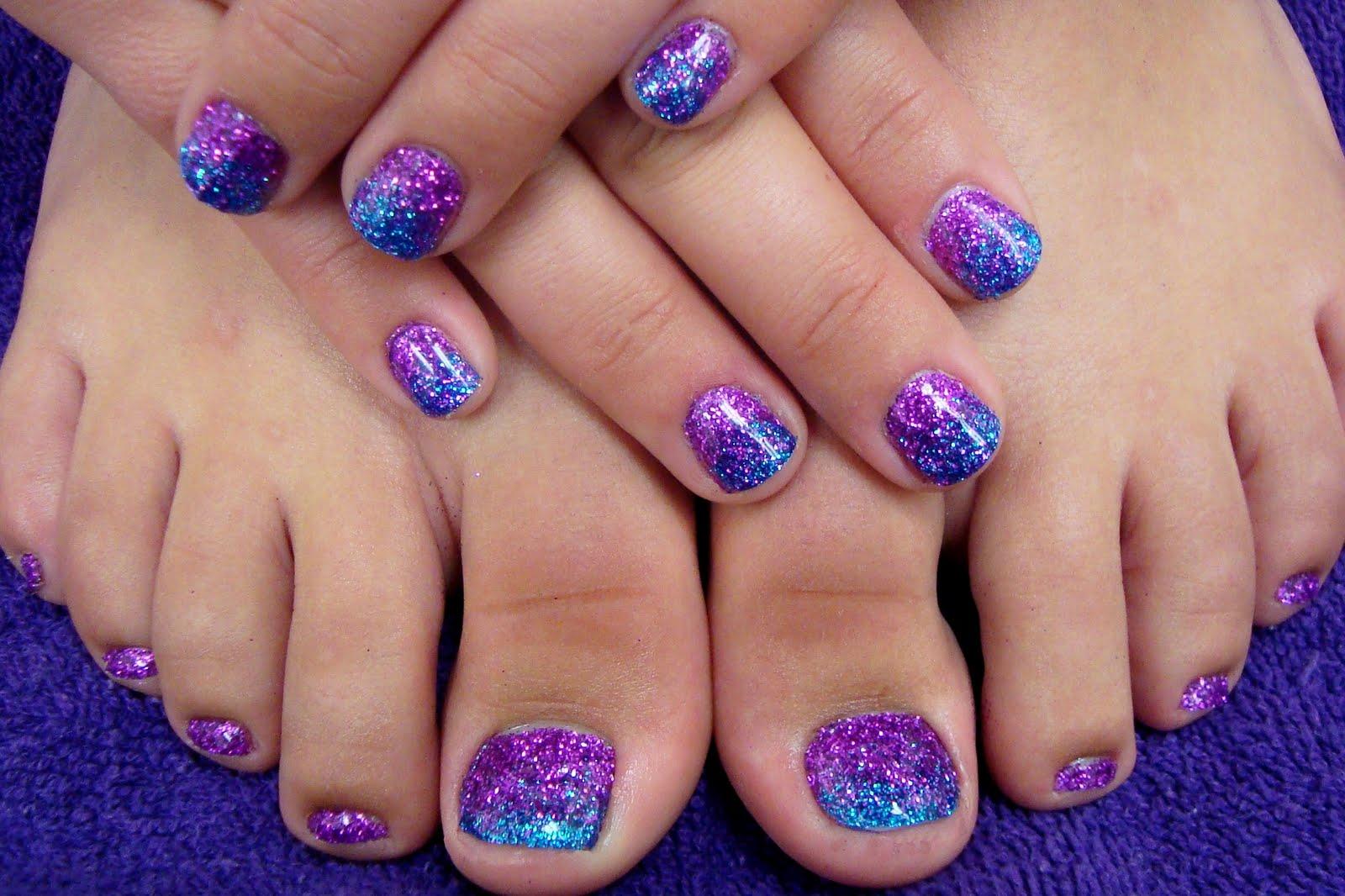 Purple Toenails Aboutwomanbeauty Com Nails Ideas