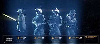 Heroes, Squad, Star Wars Battlefront 2