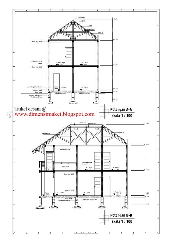 Image Result For Desain Rumah Rumah Type