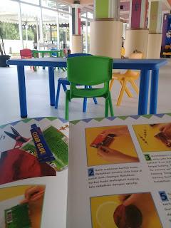 ruang baca anak di perpus palnam