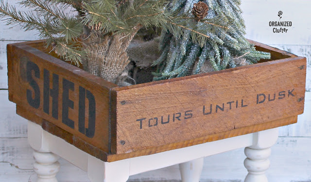 Adding Legs to Rustic Decor Pieces #oldsignstencils #thriftshopmakeover #rusticdecor #upcycle #repurposed