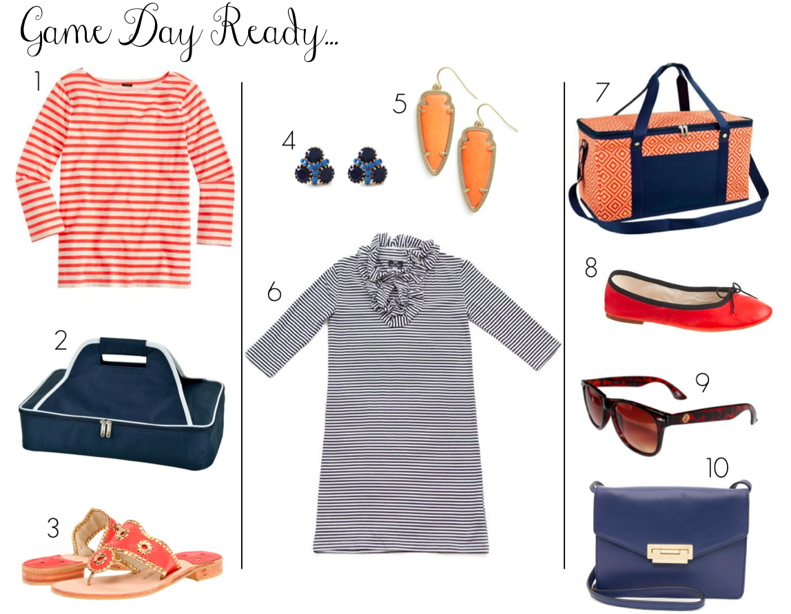 Virginia Football - UVA football - game day outfit