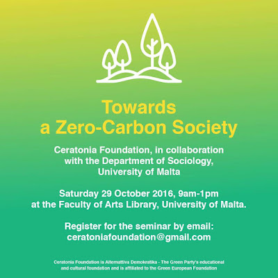 Towards a Zero-Carbon Society - Seminar