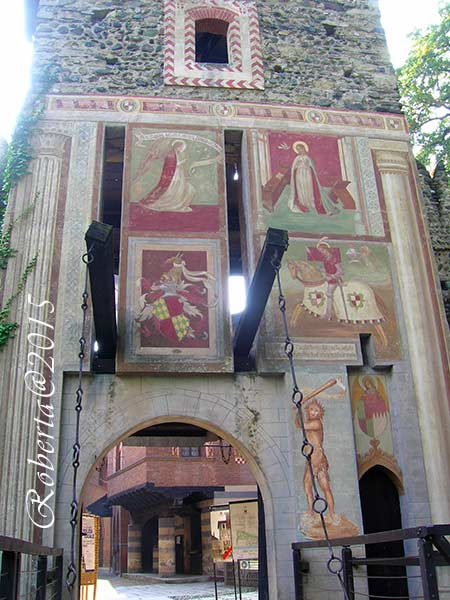 Ingresso del borgo medievale