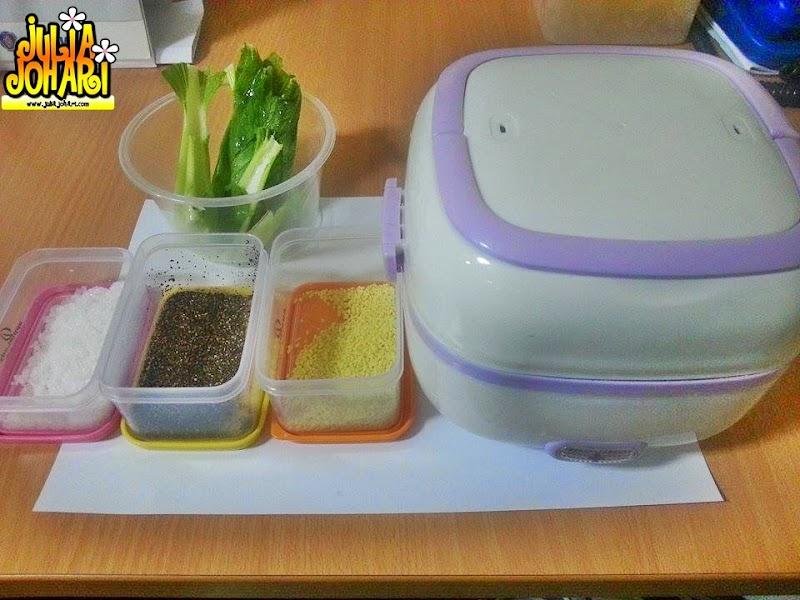 Masak Sendiri di Pejabat Guna Mini Multifuntional Cooking Lunch Box