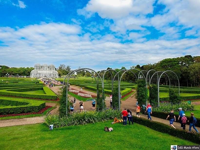 Jardim Botânico - O que fazer em Curitiba, Paraná