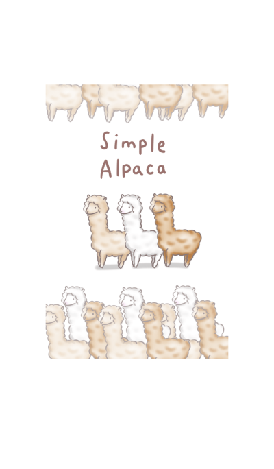simple alpaca theme
