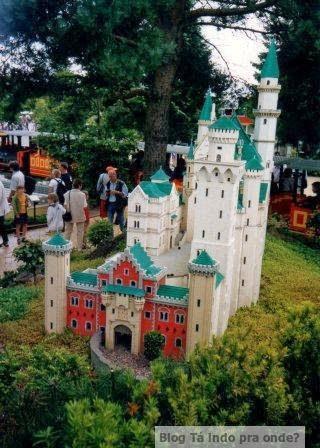 Atrações com miniaturas pelo mundo - Legoland original, Billund (Dinamarca)