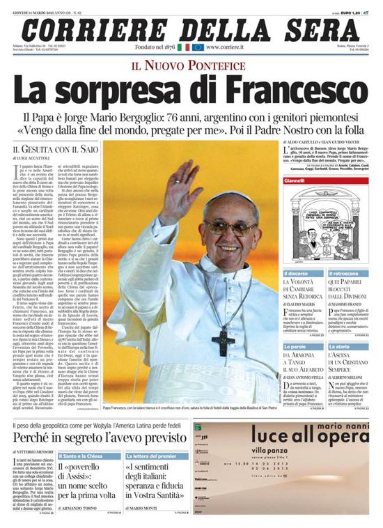 Corriere della Sera 2013