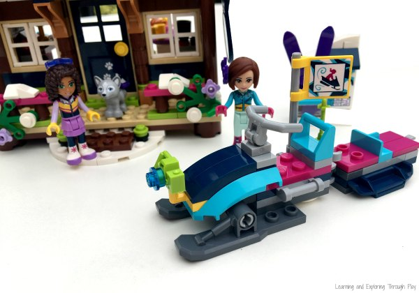 Learning and Exploring Through Play: LEGO The Snow Resort Chalet