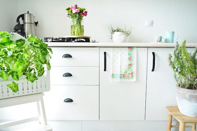 mutfak dolaplarını boyamak