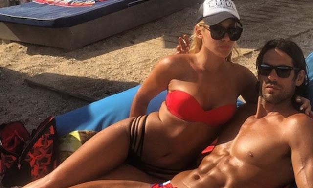 Ερωτευμένος φουλ ο Γιάννης Σπαλιάρας με τη σέξι γυμνάστρια Ζωή Τζάνη από το Άργος