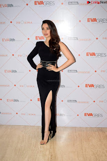 Beautiful Milky white Tamanna Bhatia in Black dress at Qutone New nd Launch ~ .xyz Exclusive 009.jpg