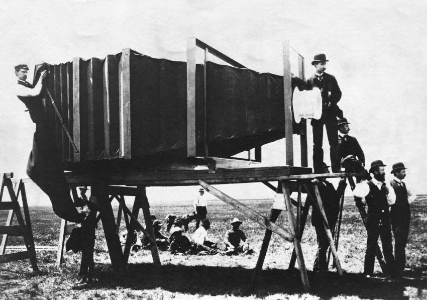 George lawrence la fotocamera pi grande del mondo blog for Grande planimetria della camera singola storia