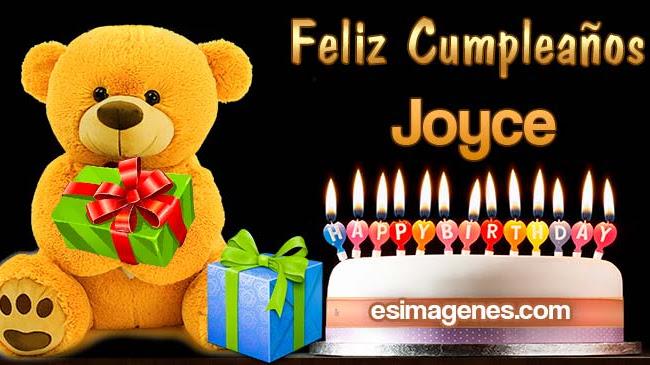 Feliz cumpleaños Joyce