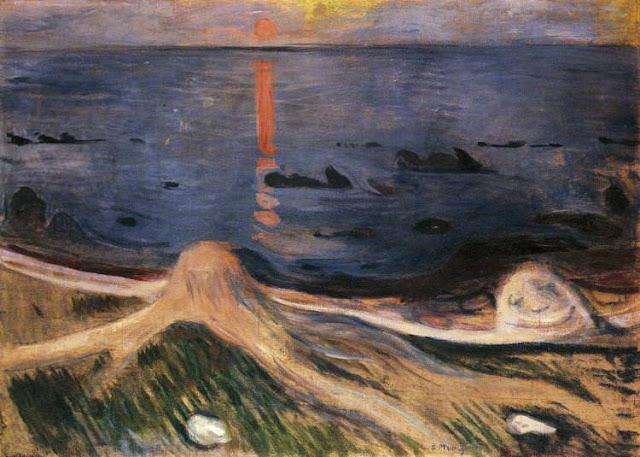 Edvard Munch - El misterio de una noche de verano - 1892