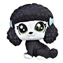 LPS Series 1 Teensie Special Collection Foggy Whitepaws (#1-32) Pet