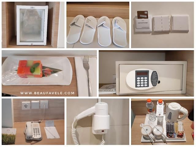 Fasilitas di kamar