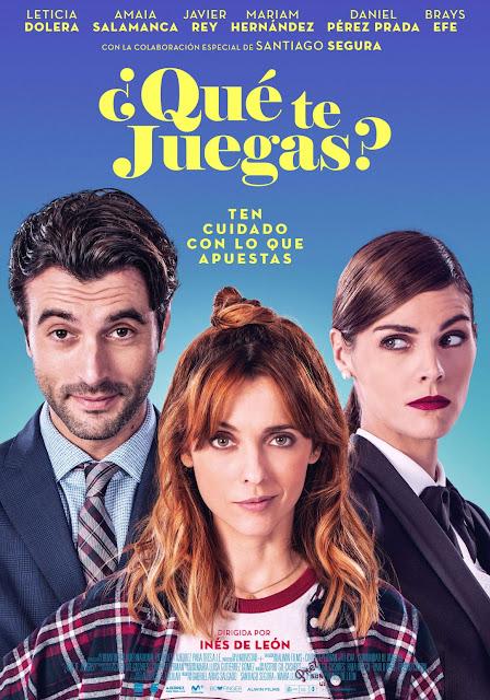 ¿Qué te juegas?, Inés de León, Leticia Dolera, Javier Rey, Amaia Salamanca