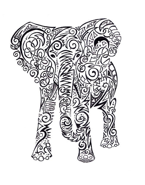 Henna Elephant Designs Galleryhip The Hippest Pics
