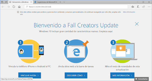 WIndows 10 Full Creators Update Juan de la Herrán