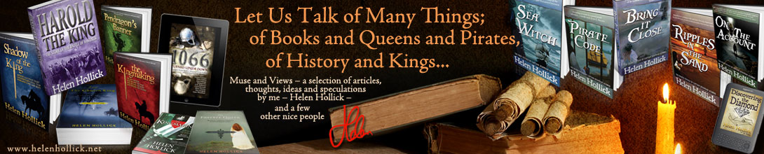 Let us Talk of Many Things; of Books and Queens and Pirates, of History and Kings...