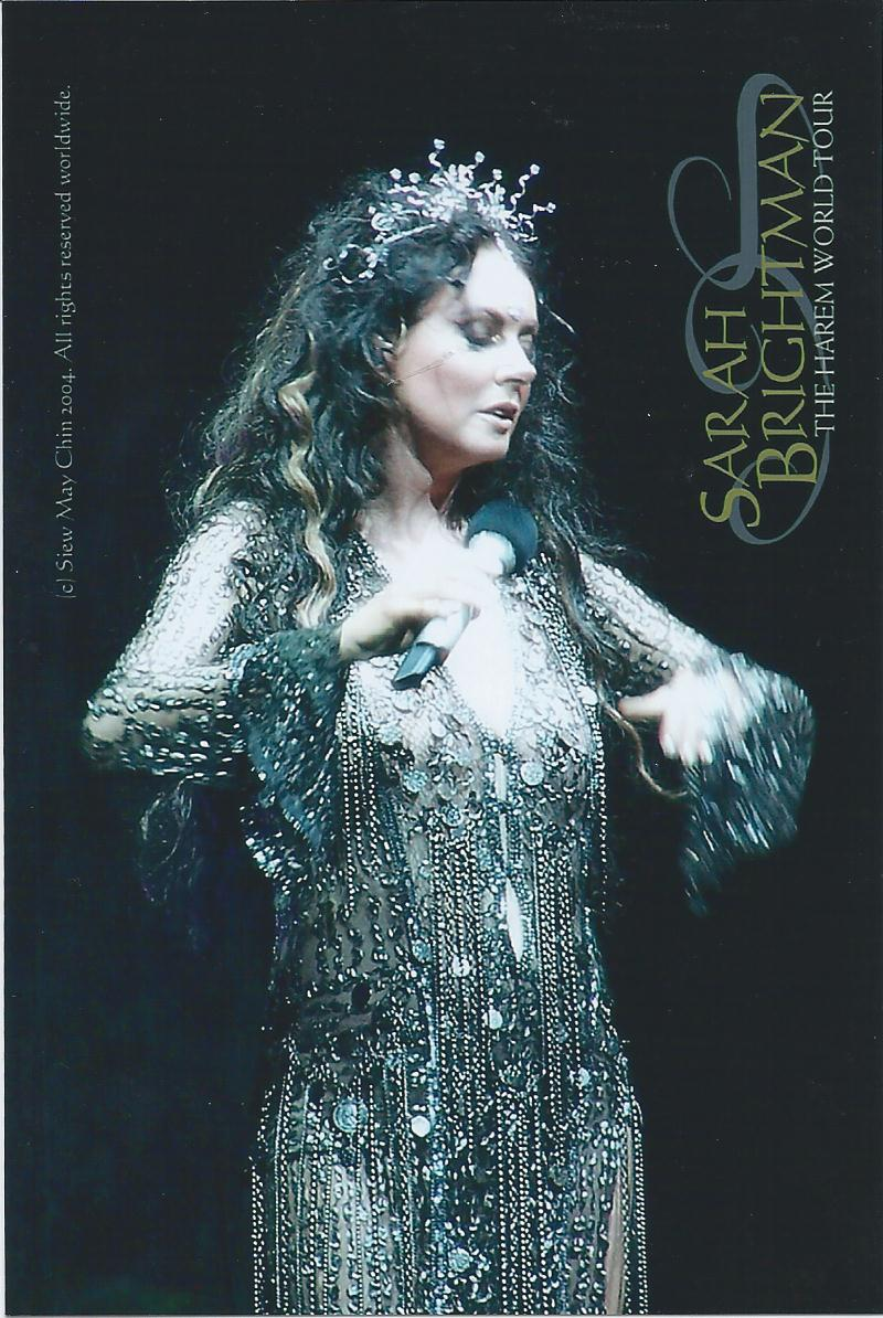 A Touch Of Entertainment Sarah Brightman Harem Tour