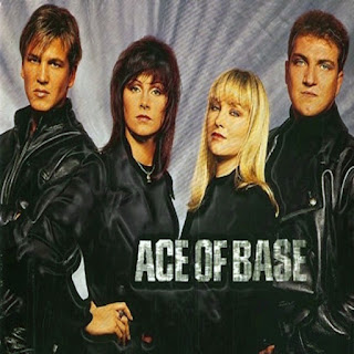 Portada antigua de Ace of Base (2 chicos y dos chicas)
