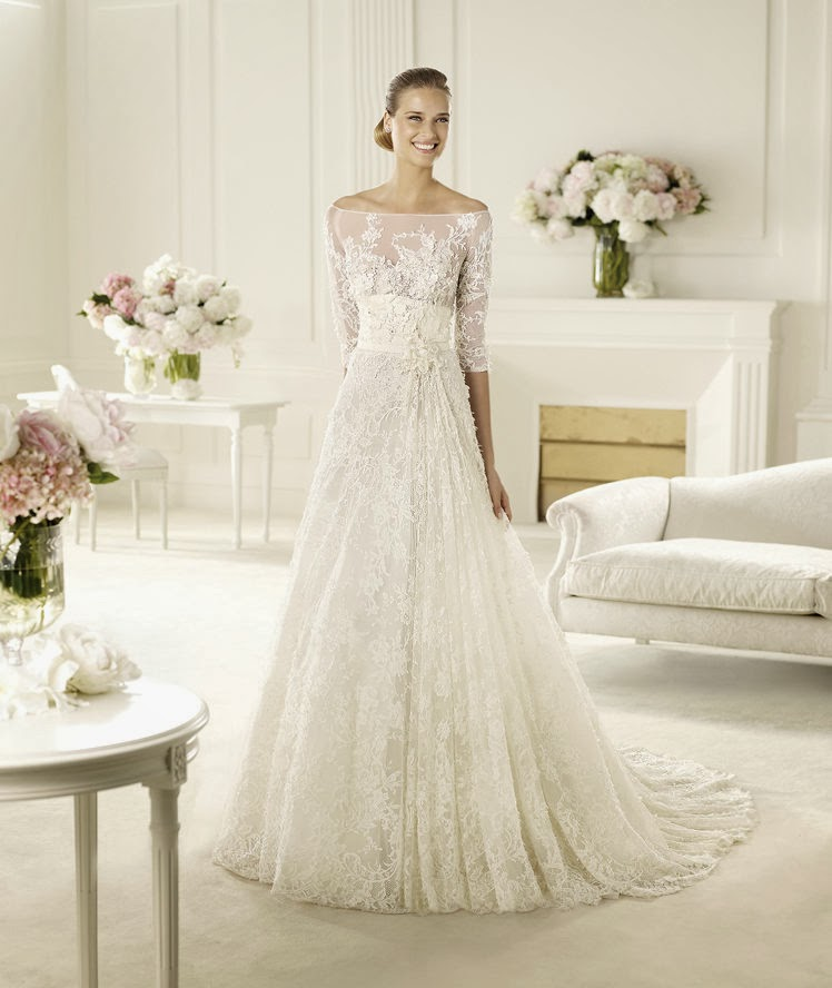 Passion For Luxury : Elie Saab – Wedding Gowns 2014