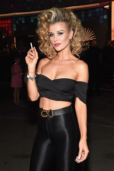 Joanna Krupa Flaunts her Curves at Halloween Bash