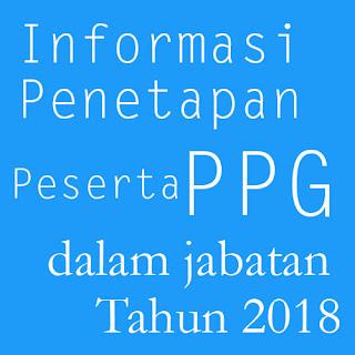 penetapan peserta ppg