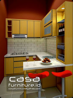 Desain Kitchen set cluster Mexicano C6 No 15 Delatinos BSD City,jasa Kitchen set murah tangerang