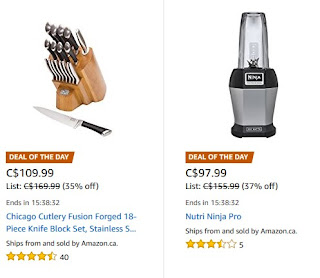 Deals of the Day: Chicago Cutlery Fusion Forged 18-Piece Knife Block Set $109.99 + more