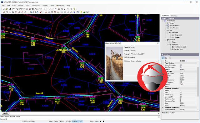 Diolkos3D WaterNET CAD.v2.0