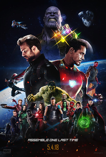 Avangers Infinity War HD Poster