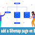 How to add a Sitemap Page in Blogger | 2020