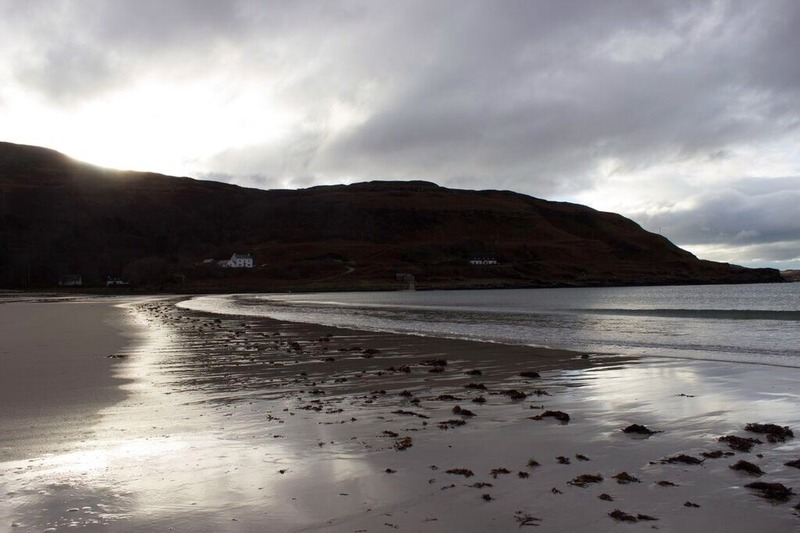 calgary bay isle of mull scotland island beach coastline