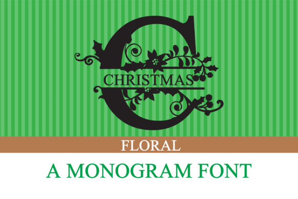 Christmas - Monogram Download Font Free