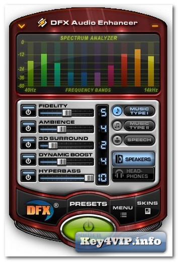 Download dfx audio enhancer 11,401-phần mềm tăng cường chất lượng.