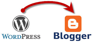 migrasi konten wordpress ke blogger