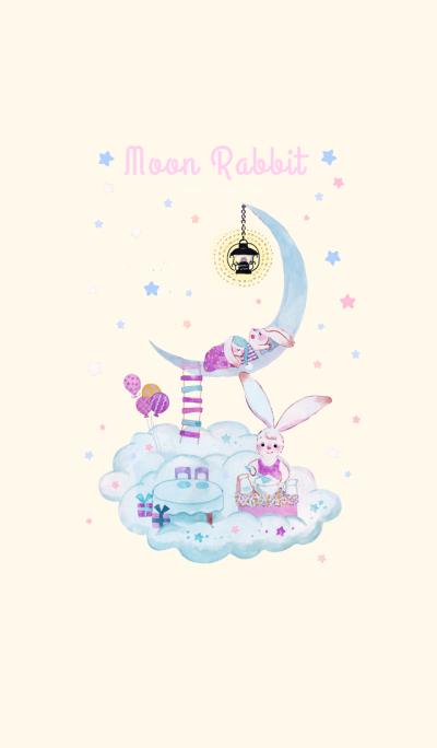 The moon rabbit