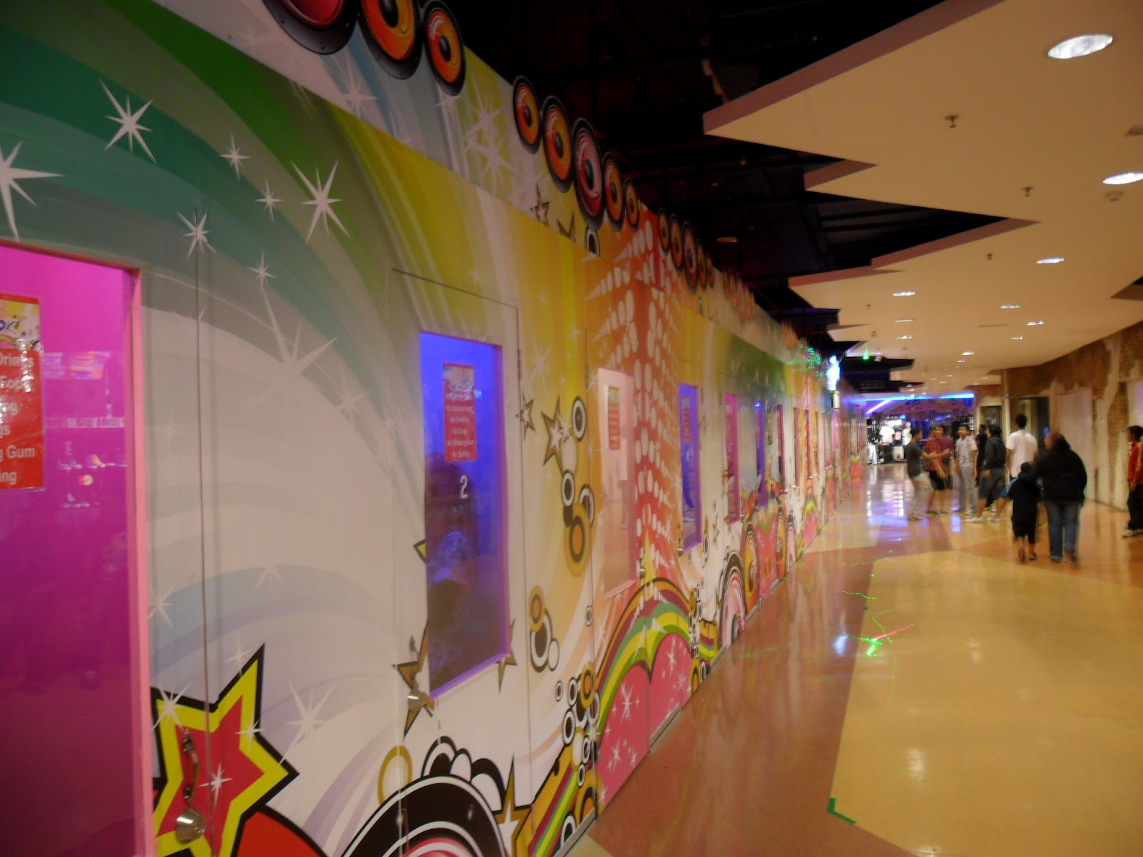 Expat Abroad: Karaoke Booths in Kuala Lumpur, Berjaya Times