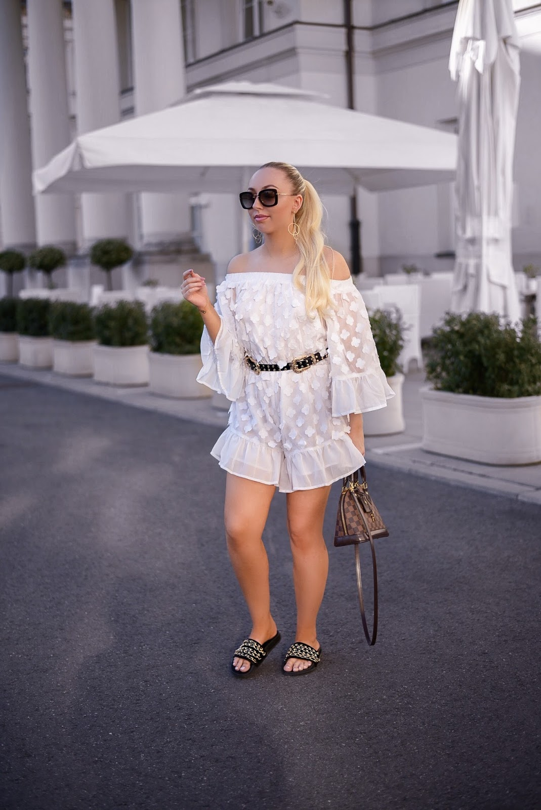 shein review_white playsuit_summer outfit ideas
