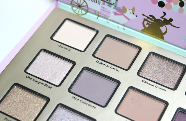 Too Faced Merry Macarons 12 Pan Eyeshadow Palette Review